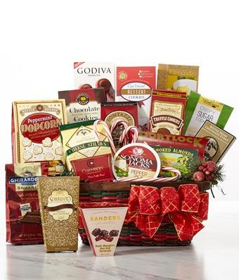 Luxury Christmas Treat Basket