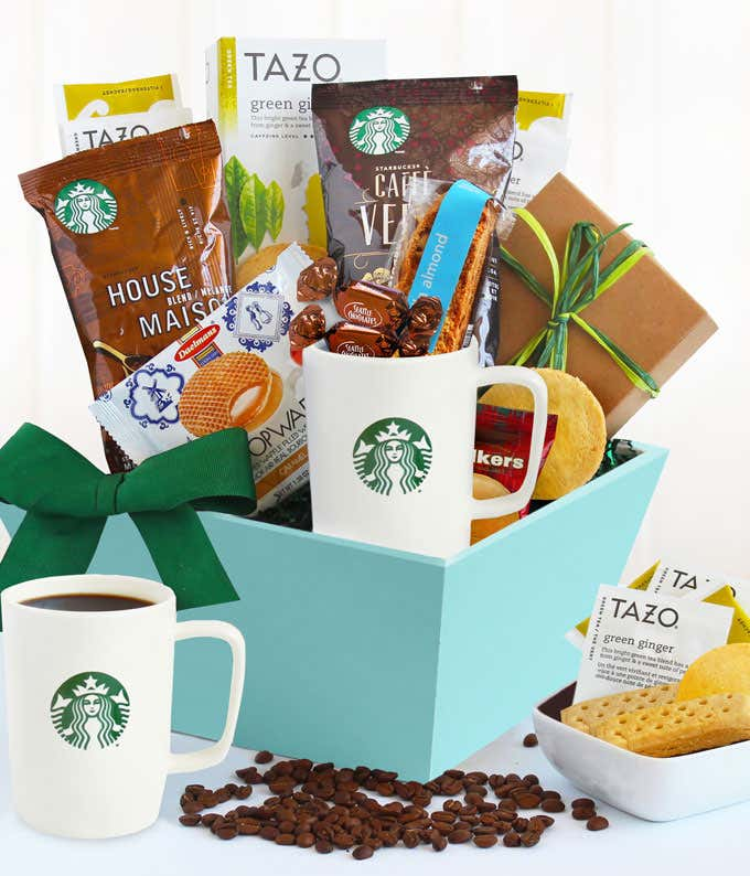 Starbucks Lover Gift Basket At From You Flowers
