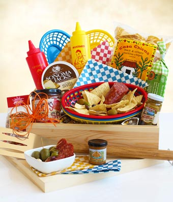 Summertime BBQ Gift Crate