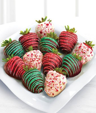 White Chocolate Covered Strawberries Delivered