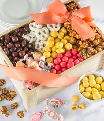 Sweets Gourmet Gift Basket