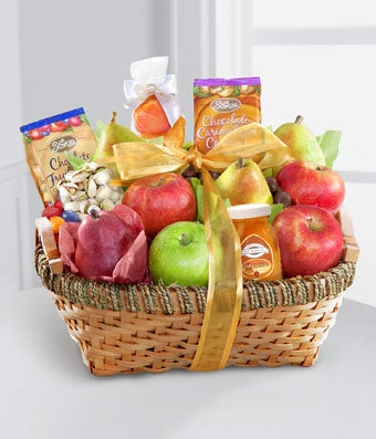 Fruit & Gourmet Kosher Gift Basket