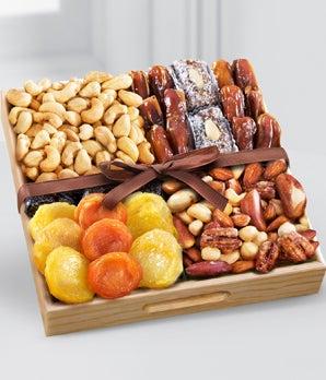 Kosher Dried Fruit & Nut Tray