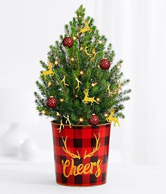 Reindeer Delight Christmas Tree