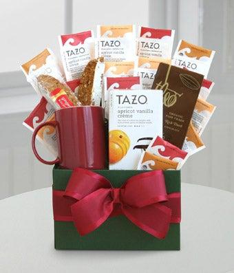 Tazo tea gift basket & Tazo® Tea Temptations at From You Flowers