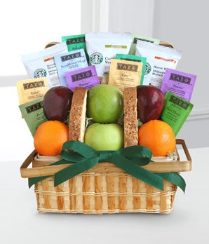 Starbucks Gratitude Basket