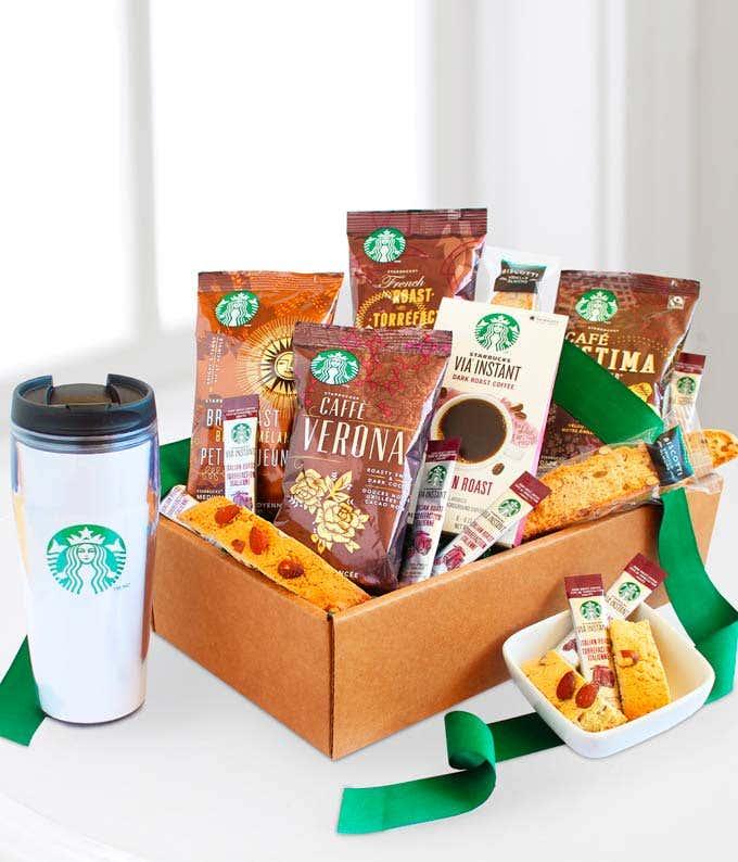 Starbucks® Get Up & Go Box