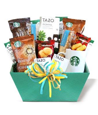 Starbucks & Tazo Gift Basket