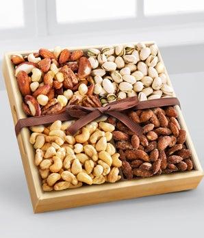 Nut variety gift basket