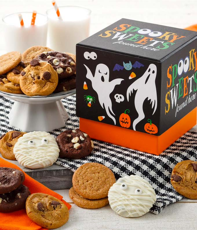 Halloween Nibblers Cookie Box