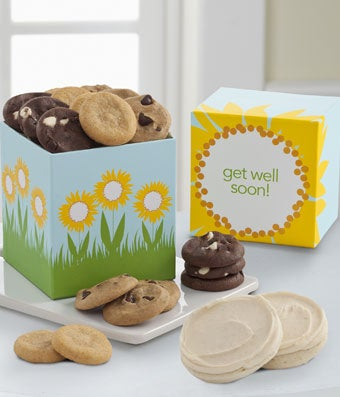 Mrs. Fields® Get Well Soon Cookie Box