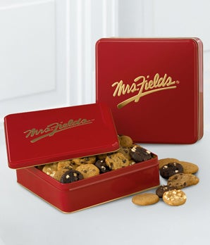 Mrs. Fields� Classic Tin with 48 Assorted Nibblers�