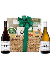 Delectable Duet Wine Gift Basket