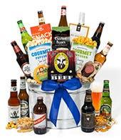 Global Beer and Gourmet Basket - 12 Pack