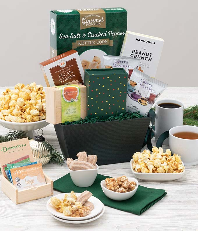 Coffee Break Snack Basket