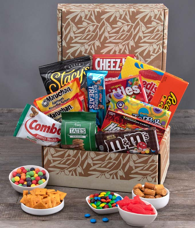 Care Package Snack Crate