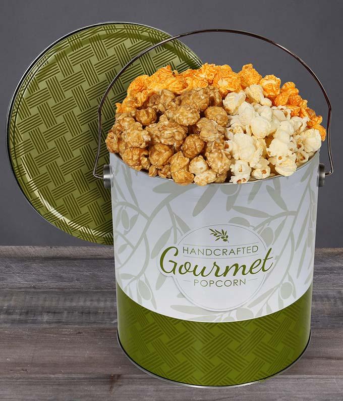 Gourmet Kettle Popcorn Tin