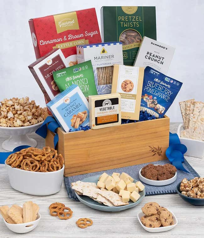 Luxury Sweets and Cheese basket