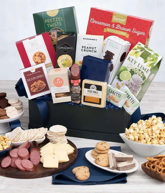 Premium Gourmet Snack Basket