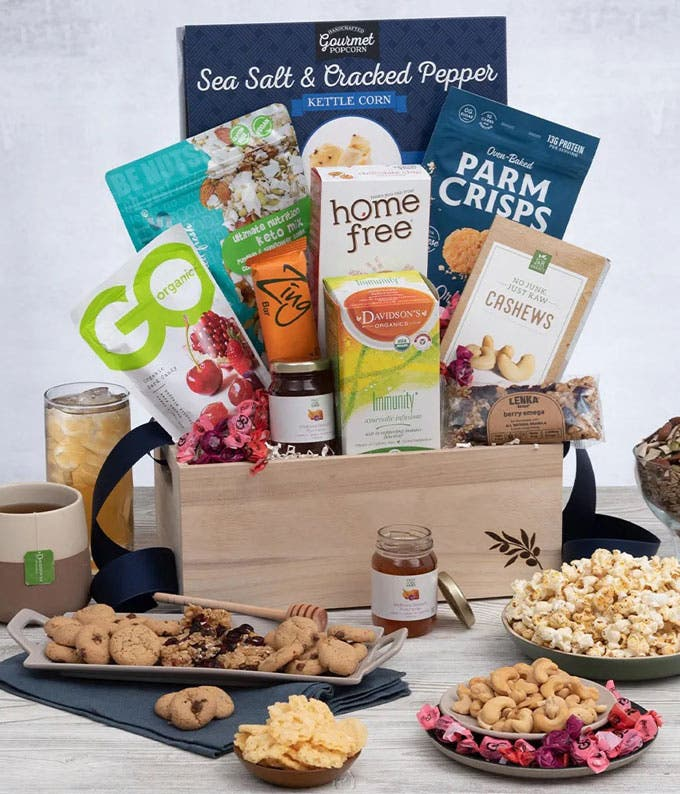 Healthy Snack Basket