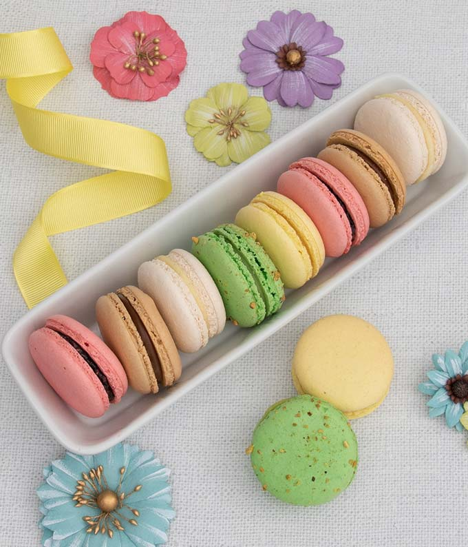 French Macarons Variety Gift Box
