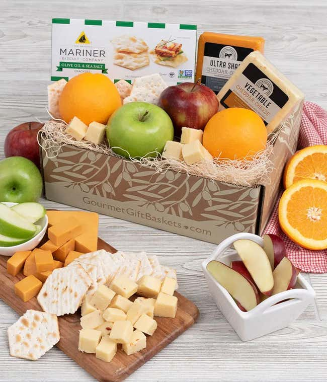Thinking of You Fruit and Gourmet Basket