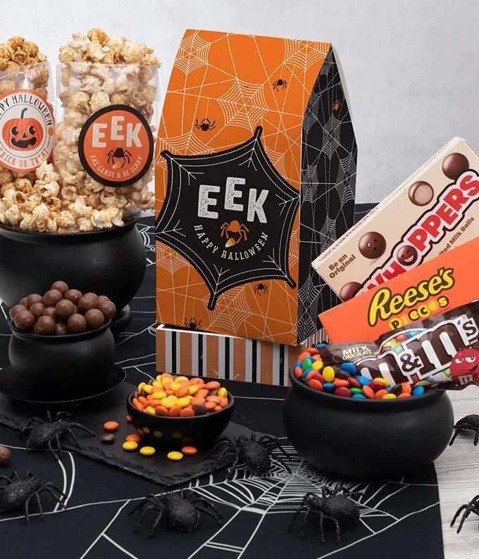 Halloween Popcorn Tin