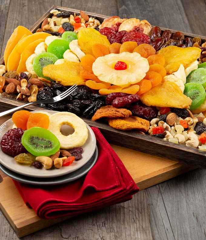 Fruit and Nut Party Platter