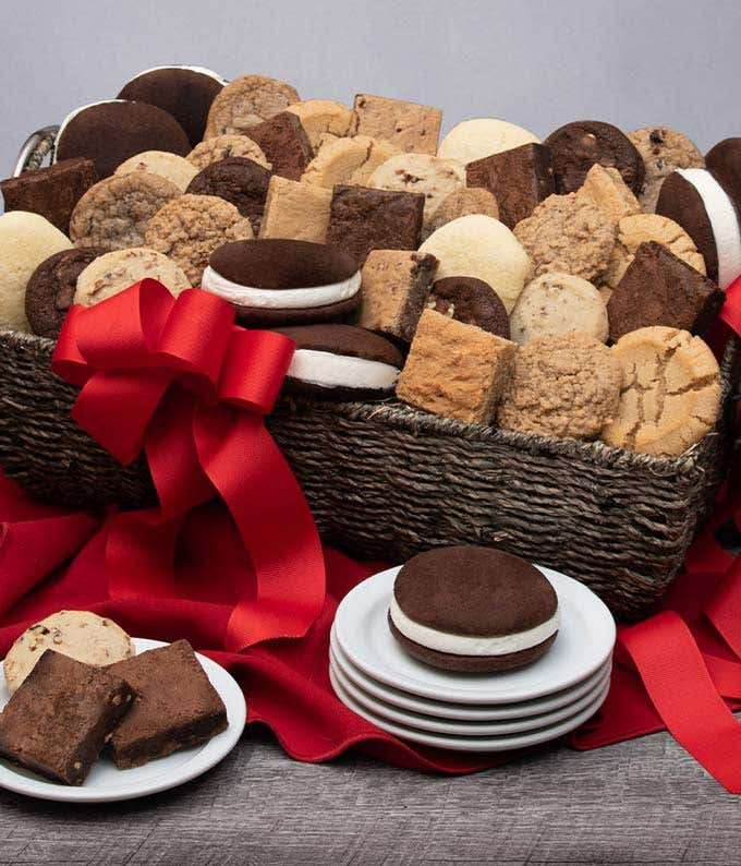 Abundant Baked Goods Basket