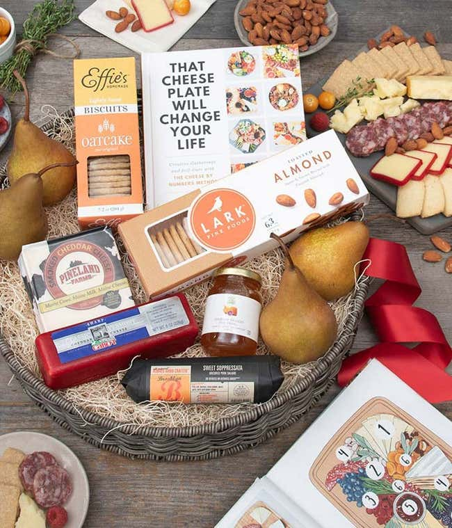 The Ultimate Charcuterie Basket