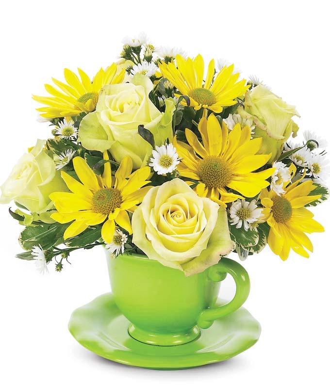 Green Tea & Roses