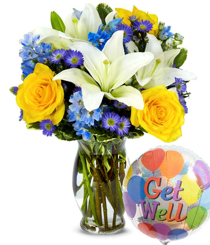 The Winter Wonderland Get Well Bouquet