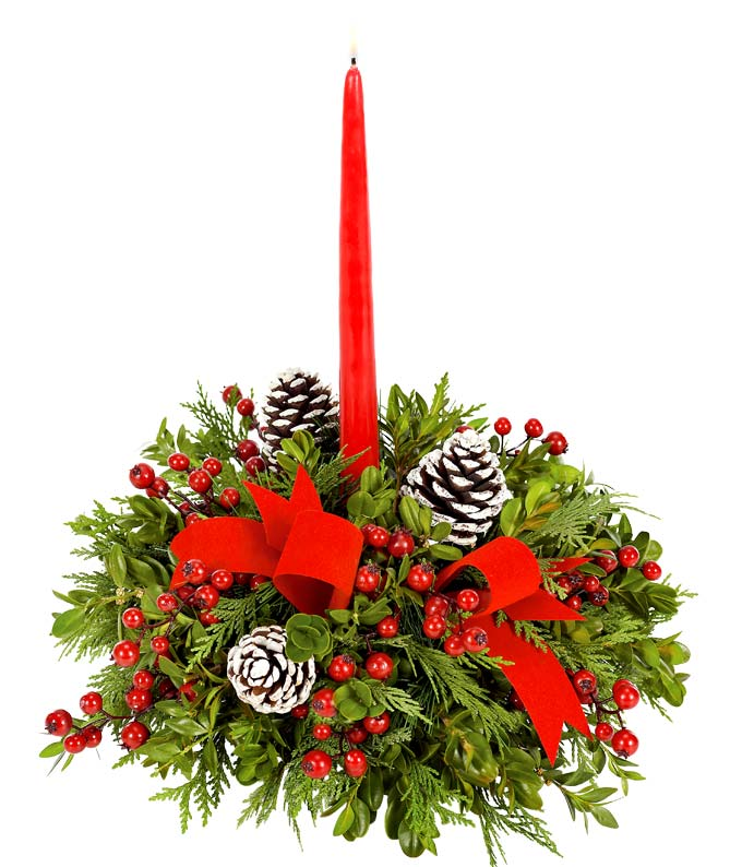 Christmas Centerpieces | Christmas Flower Centerpieces