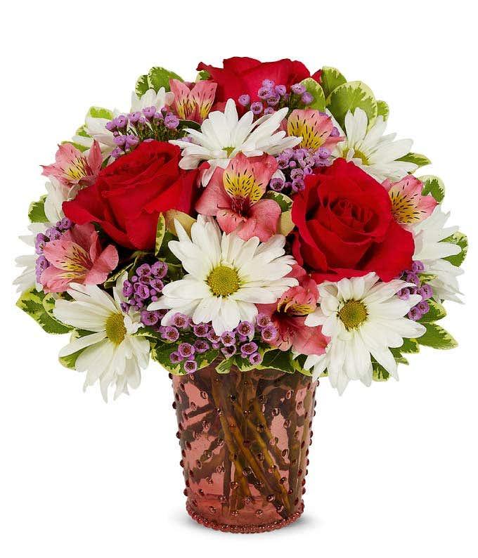 Mixed Floral Hobnob Bouquet