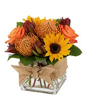 Thanksgiving sunflower bouquet