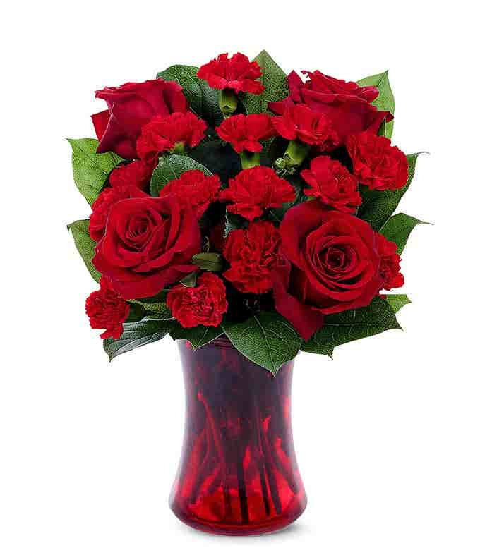 Valentine All Red Bouquet