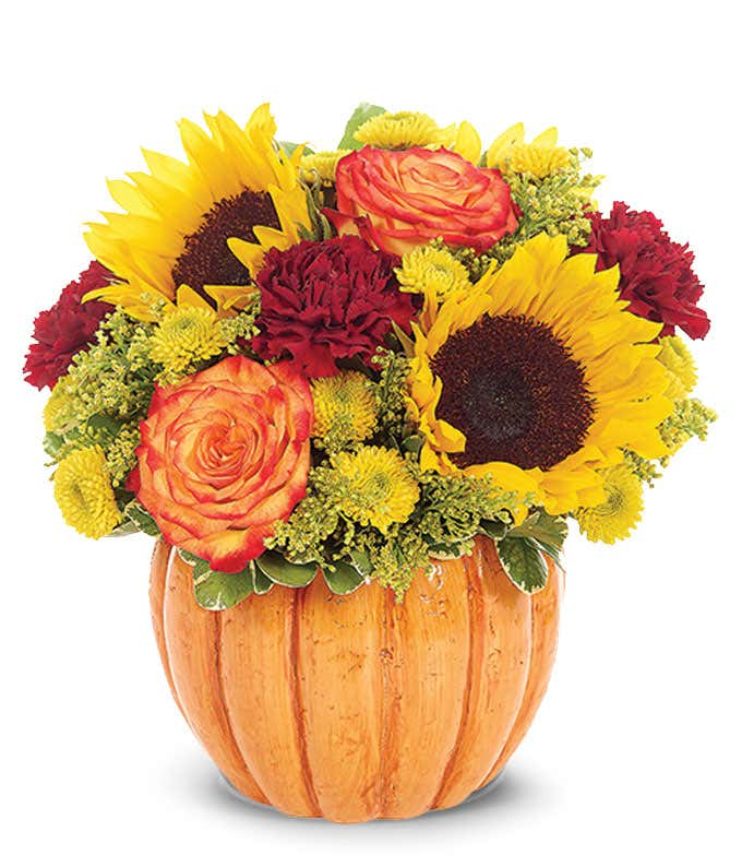 Rustic Pumpkin Bouquet
