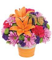 Fresh Orange Bouquet