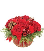 Red Velvet Ornament Bouquet