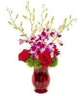 Brilliant Orchid Bouquet