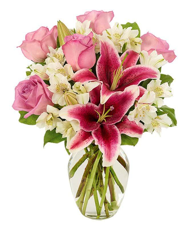 Lovely Stargazer Lily Bouquet