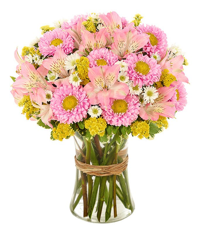 Pink Sunshine Bouquet