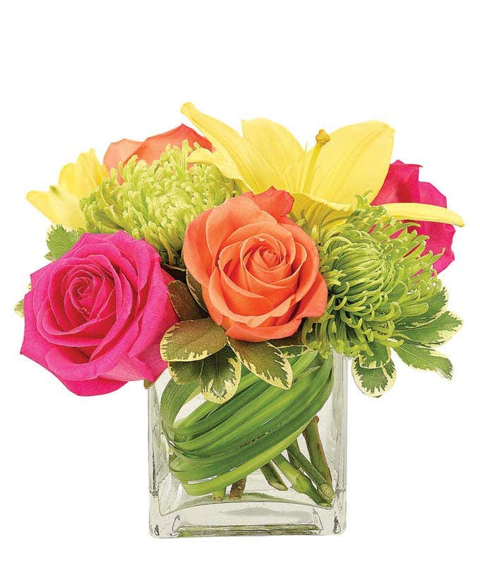 Fluorescent Flame Bouquet