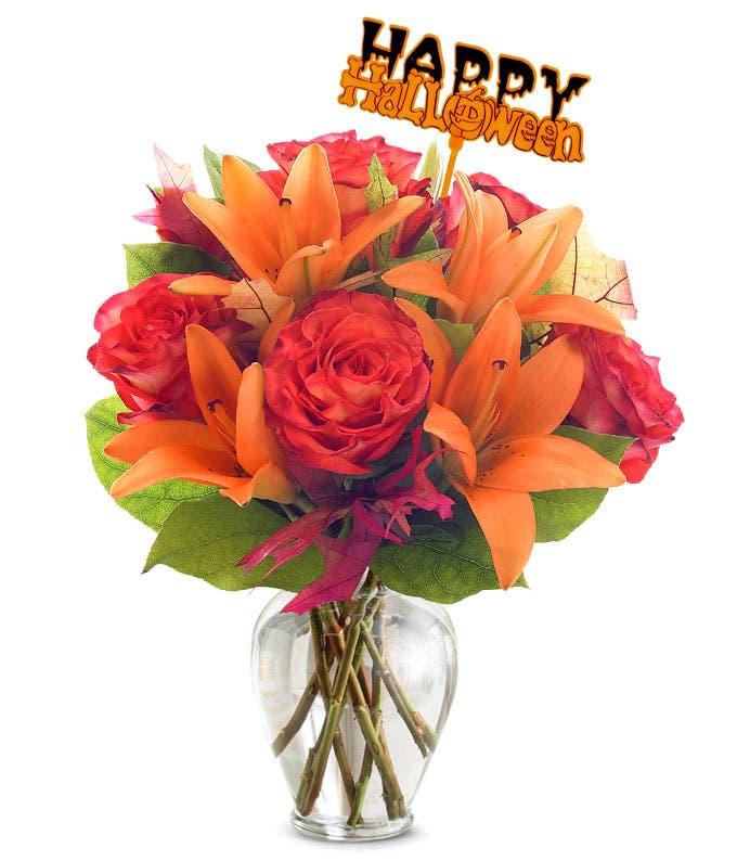 BOO-tiful Orange Bouquet