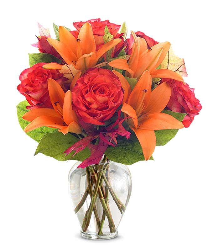 Orange Sorbet Bouquet