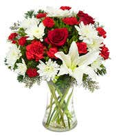 Luxury Christmas flower bouquet