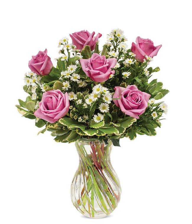 Purple roses delivered with monte casino