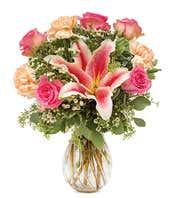 Peach Palette Bouquet