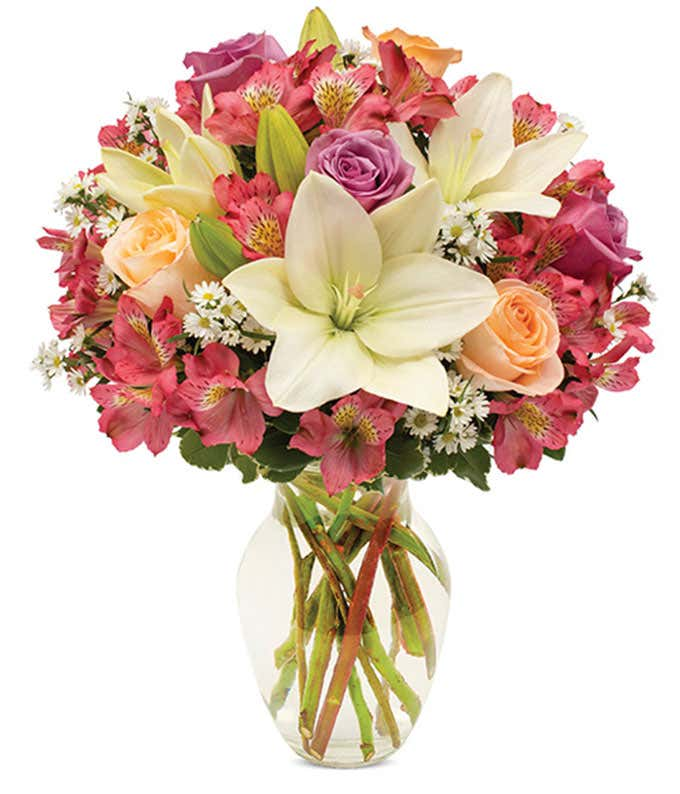 Lily Sunburst Bouquet