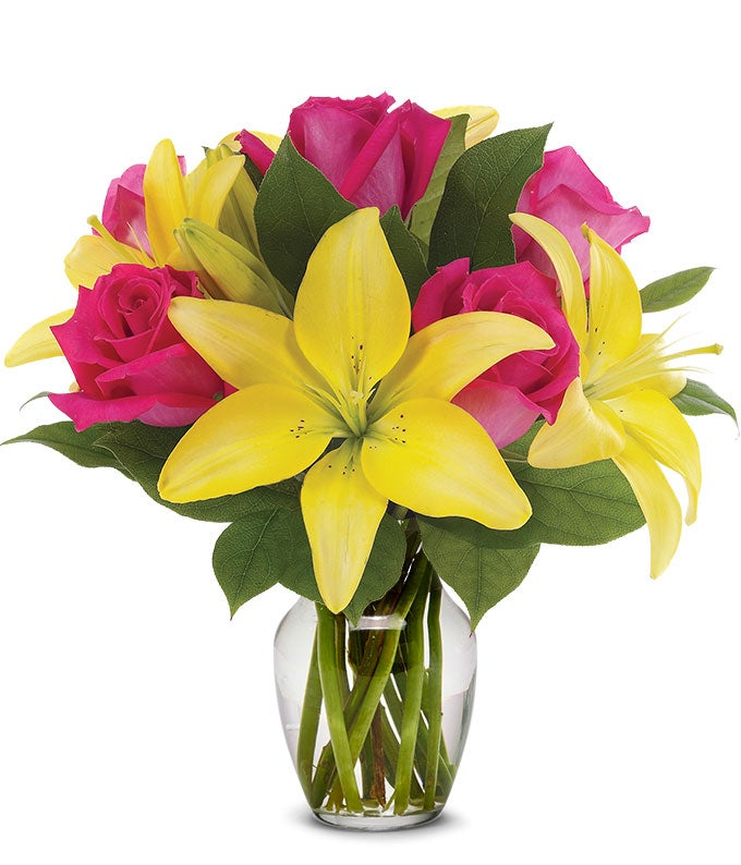 Rose and Lily Lemonade Bouquet